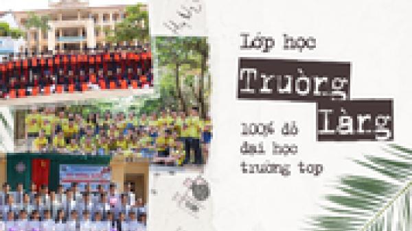 Những lớp học siêu giỏi ở Hà Tĩnh, Nghệ An: Học trường làng nhưng cả lớp đậu đại học, năm nào cũng thủ khoa trường top