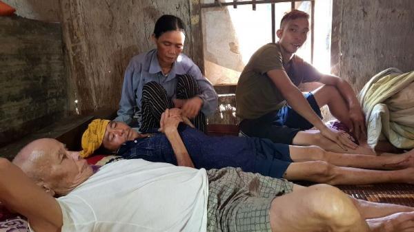 Hà Tĩnh: Con trai câm điếc, vợ nghèo kiệt quệ lo cứu chồng ung thư phổi
