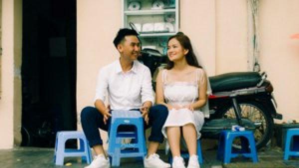 Ảnh cưới ngẫu hứng trên phố cổ Hà Nội của uyên ương ngành ngân hàng đến từ Hà Tĩnh