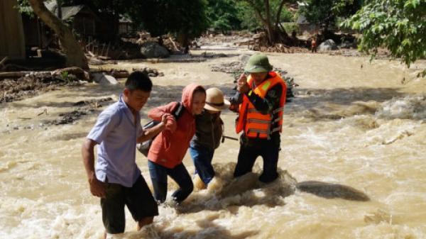 Nghệ An: Thầy cô cắt rừng, băng suối vào trường học sau lũ