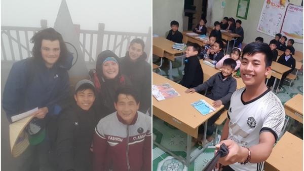 Hành trình xuyên Việt vừa đi vừa làm của chàng trai Hà Tĩnh