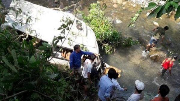 Hiện trường vụ tai nạn thảm khốc khiến 11 người chết tại Lai Châu