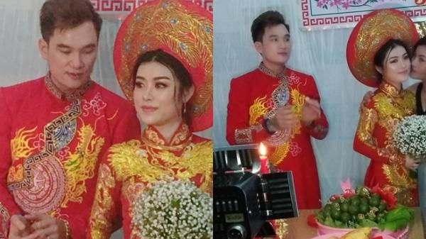 Chàng ca sĩ quê Hà Tĩnh Lâm Chấn Huy bất ngờ kết hôn, lấy vợ ở tuổi 37