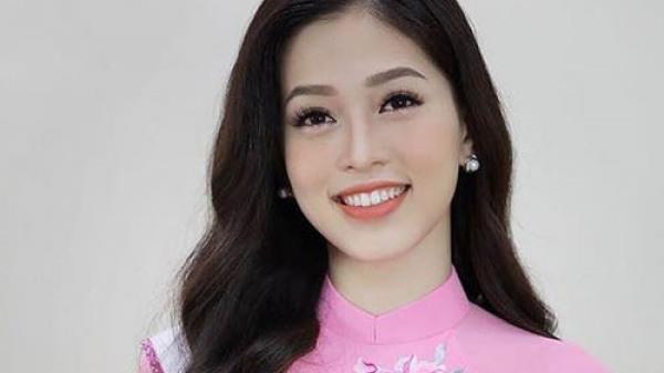 Á hậu Phương Nga - người đẹp gốc Hà Tĩnh nhảy múa trong video dự Miss Grand International