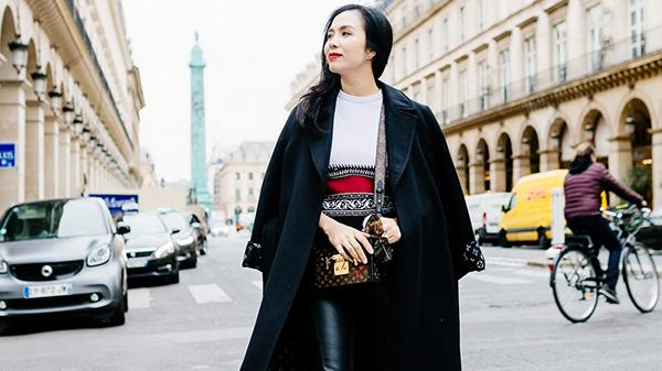 Nữ doanh nhân Việt sành điệu tham dự show thời trang đỉnh cao tại Pháp