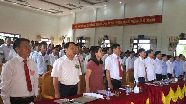 Đại hội điểm MTTQ xã đầu tiên ở Hà Tĩnh