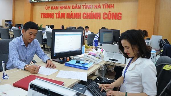 Hà Tĩnh tạo đột phá về cải cách hành chính