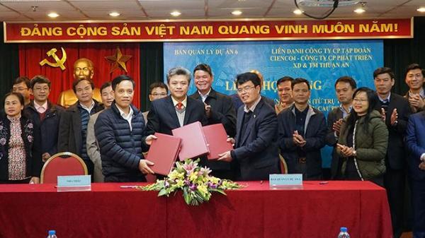 Ký chính thức gói thầu XL.02 đầu tiên Dự án Đầu tư xây dựng cầu Cửa Hội ở Hà Tĩnh