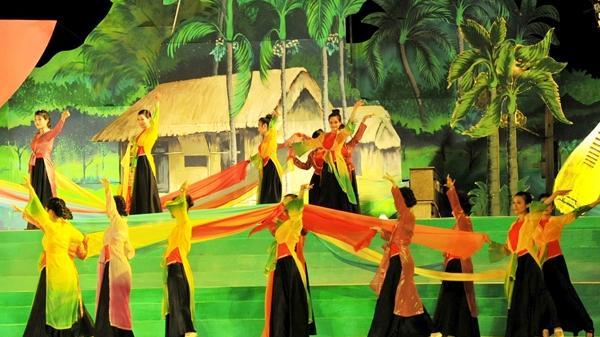 Nghệ An-Hà Tĩnh: Tổ chức Chương trình nghệ thuật 'Đôi bờ Ví, Giặm'