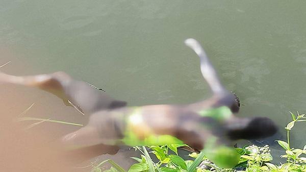 Hà Tĩnh: Phát hiện thi thể người đàn ông cháy xém nổi trên mặt nước