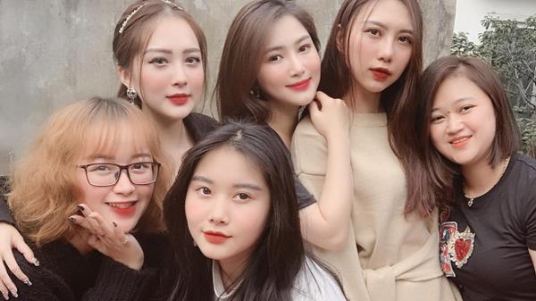 Hotgirl nổi tiếng Hà Tĩnh và dàn em gái của Hương Tràm khiến dân mạng đua nhau xin 'mần rể'
