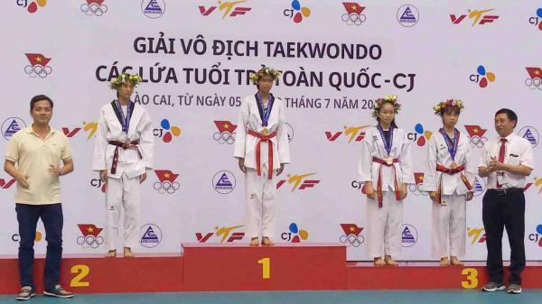 Lai Châu: Một vận động viên đoạt Huy chương Vàng tại Giải vô địch Teakwondo toàn quốc
