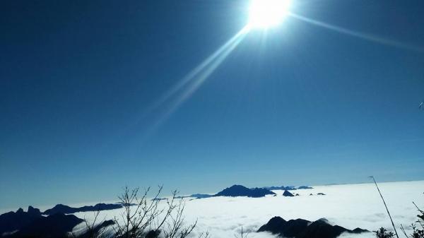 Pu Ta Leng điểm leo núi du lịch hấp dẫn tại Lai Châu