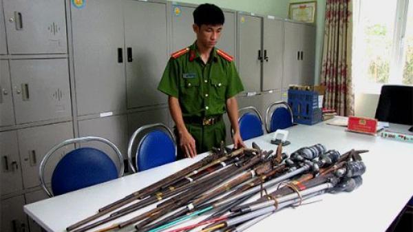 Lai Châu: Xã Nậm Hàng đẩy mạnh thu hồi vũ khí tự chế