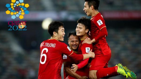 CHÍNH THỨC: Lịch thi đấu vòng loại World Cup 2022 của ĐT Việt Nam