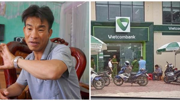 Bảo vệ Vietcombank kể phút chống trả tên cướp cầm súng