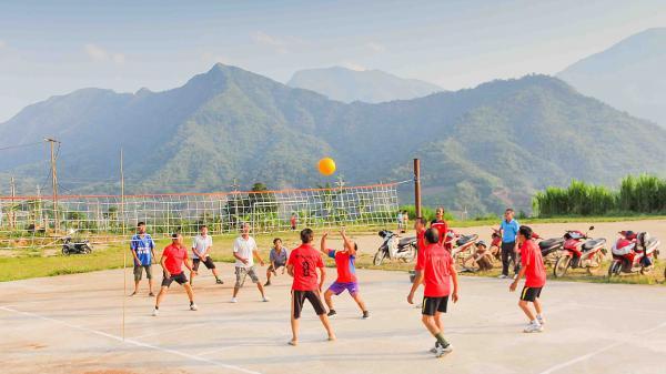 Lai Châu: Hấp dẫn môn thể thao bóng chuyền hơi
