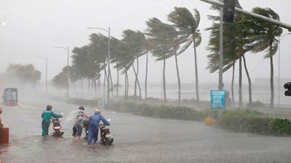 Bão Bailu giật cấp 11 áp sát Biển Đông, miền Bắc mưa rất to