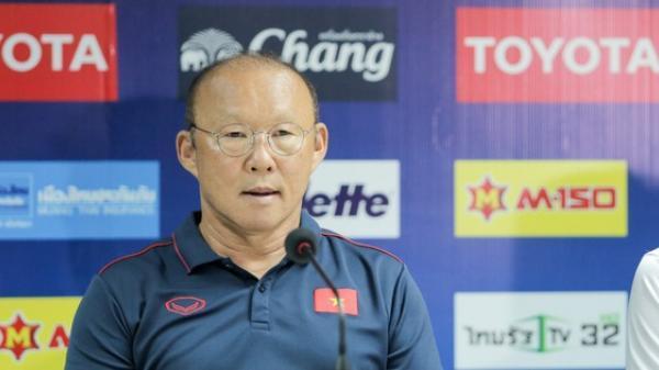 HLV Park Hang-seo phát cáu vì không được phóng viên Thái Lan tôn trọng ở buổi họp báo trước trận