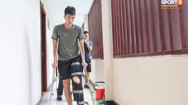 """Đình Trọng bị """"trách"""" hồi phục sai cách, quá vội vàng ra sân rồi phải nghỉ thêm 3 tháng"""
