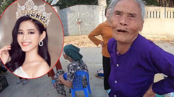 Bà hàng xóm ngóng Đỗ Thị Hà về làng từng ngày, vui quá nhầm một phát từ Hoa Hậu Việt Nam sang... nhất thế giới