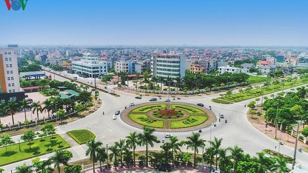Chùm ảnh: Thành phố Hải Dương - diện mạo xứng tầm đô thị loại 1
