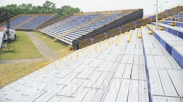 Gần 4.000 chỗ ngồi trên khán đài dành cho người dân Hải Dương