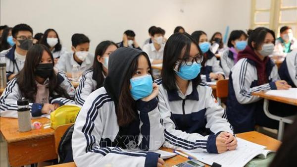 Hải Dương: Học sinh cấp 2, cấp 3 đi học từ thứ Hai tuần sau