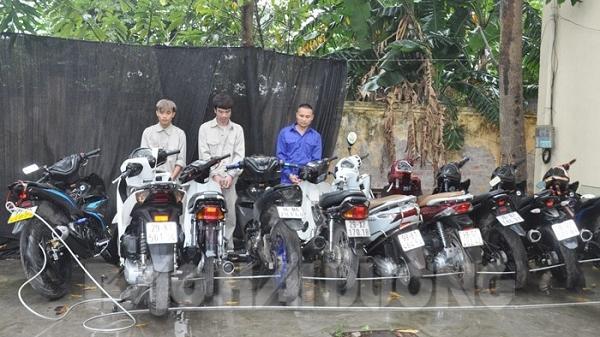 Bắt 3 tên chuyên trộm xe máy đắt tiền