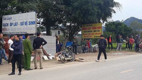 Tai nạn trên đường Hồ Chí Minh, nam thanh niên tử vong tại chỗ