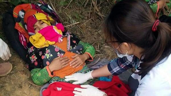 Điện Biên: Kịp thời cấp cứu cho một ca sinh nở giữa rừng