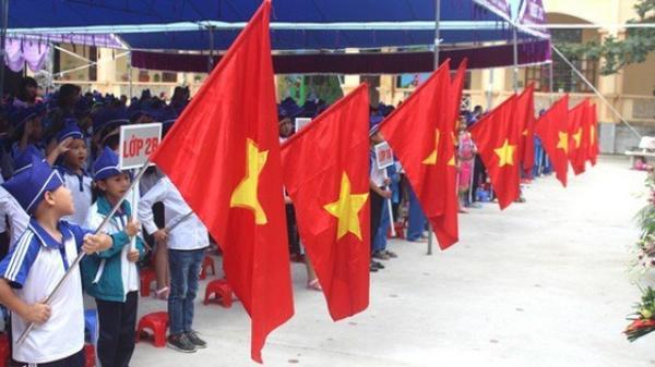 Hải Dương: Chỉ tổ chức chào cờ trong lớp khi học sinh THPT trở lại trường