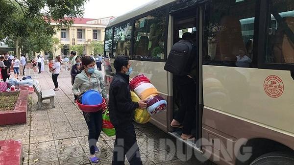 Người liên quan trực tiếp đến bệnh nhân Covid-19 ở thôn Tiêu Sơn được về nhà