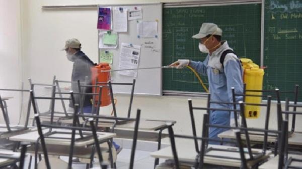 Hải Dương: Khử khuẩn trường lớp, lắp thêm vòi nước sạch... đón học sinh trở lại trường