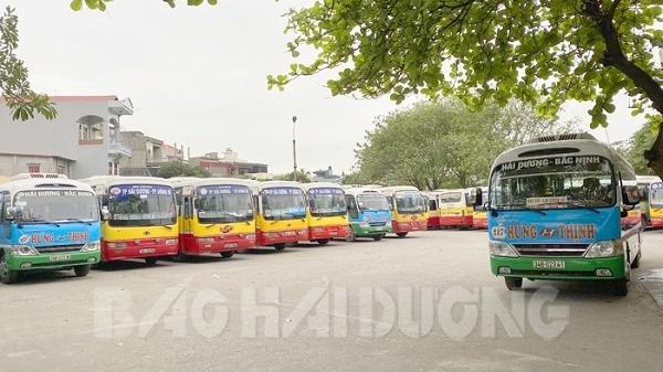 Hải Dương: Một số tuyến xe buýt, xe khách liên tỉnh được phép hoạt động