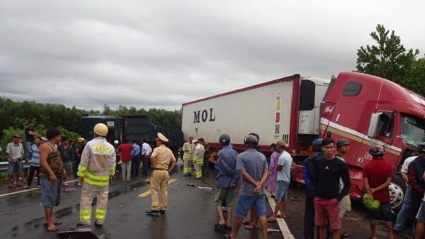 Hải Dương: Tai nạn giao thông trên quốc lộ 37 làm 1 người chết