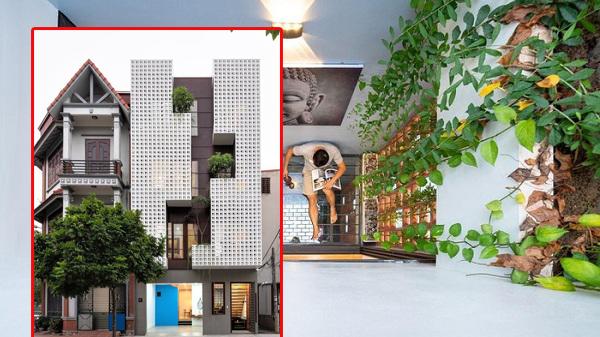 Nhà phố mặt tiền thiết kế như thác nước ở Hải Dương ấn tượng trên báo Mỹ