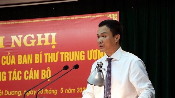 Chân dung tân Phó Bí thư tỉnh ủy Hải Dương vừa được bổ nhiệm