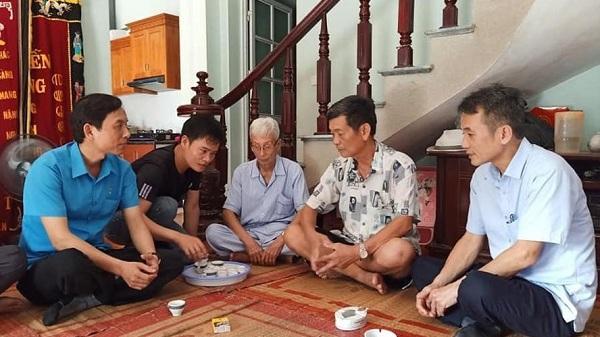 LĐLĐ tỉnh Hải Dương thăm hỏi gia đình đoàn viên bị tai nạn giao thông