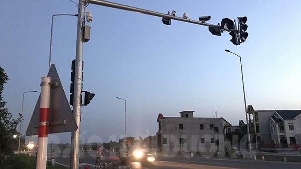 Công an huyện Ninh Giang lắp đặt 14 camera trên đường trục Bắc-Nam và quốc lộ 37