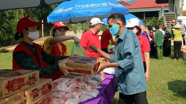 """""""Chợ nhân đạo"""" cho hộ dân khó khăn xã Noong Luống ở Điện Biên"""
