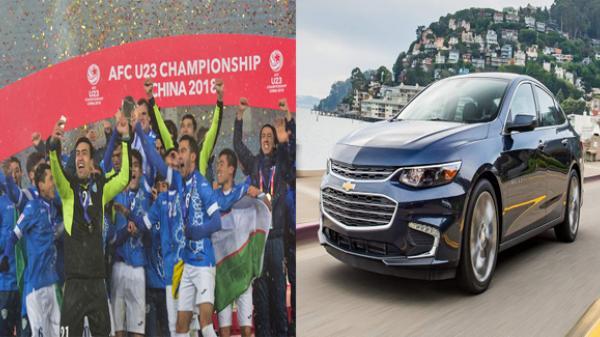 Thắng U23 Việt Nam, Tổng thống Uzbekistan tặng mỗi cầu thủ U23 nước nhà một chiếc xe hơi
