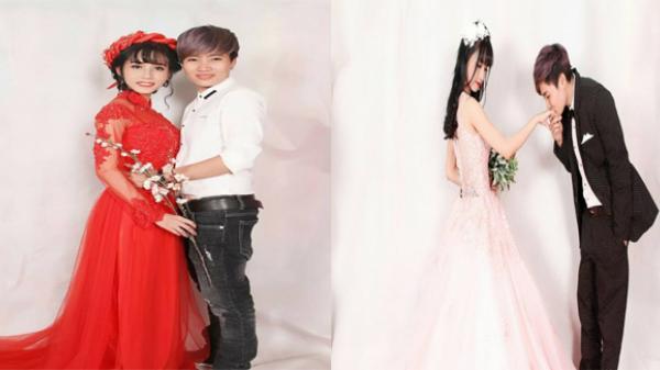 Bộ ảnh cưới đẹp lung linh của cô dâu 10x  Hậu Giang và người chồng đồng tính