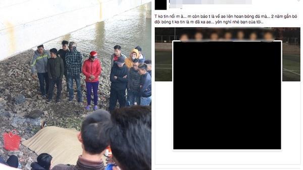 Bạn bè tiếc thương nam sinh tử vong khi cứu 3 mẹ con đuối nước lúc đi thả cá ngày 23 tháng Chạp