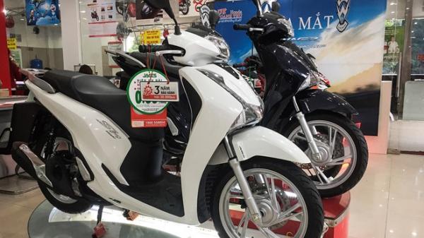 HOT: Giá xe máy đồng loạt giảm mạnh sau Tết Nguyên đán, SH tụt dốc không phanh