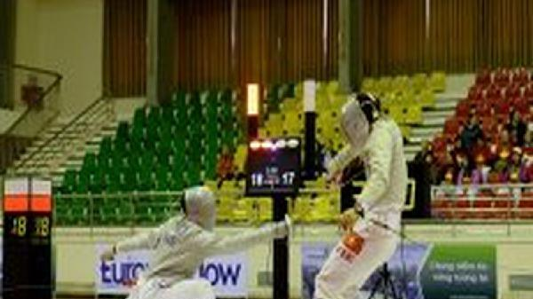 Các vận động viên cử tạ lập nhiều kỷ lục đại hội