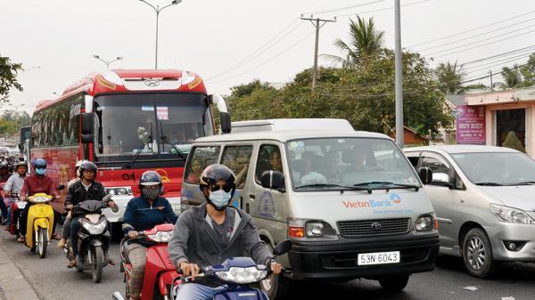 An Giang: Kẹt xe nghiêm trọng những ngày Tết