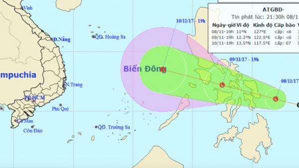 Dự báo thời tiết 9/11: Biển Đông sắp hứng áp thấp nhiệt đới