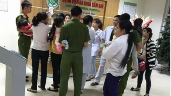 Gần 100 trẻ nhập viện sau bữa ăn tại trường mầm non