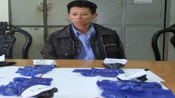 Hòa Bình: Bắt đối tượng vận chuyển gần 8.000 viên ma túy tổng hợp